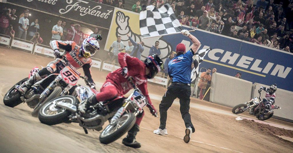 Brad Baker wins Superprestigio 2015