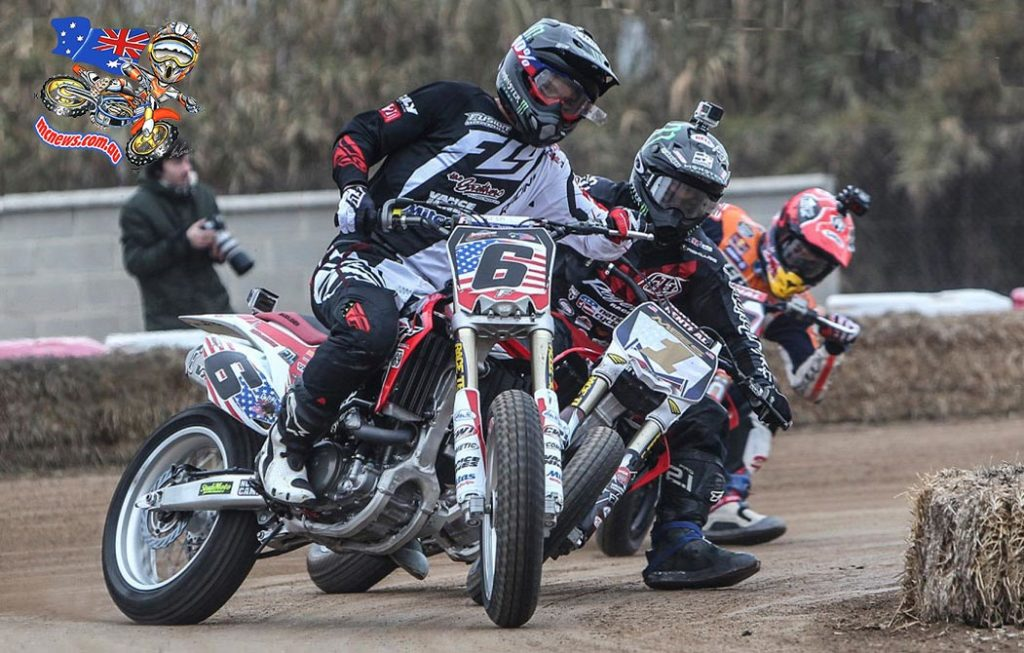 Jared Mees, Brad Baker, and Marc Márquez prepare for Superprestigio short-track battle in Barcelona