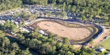 Taree Motorcycle club has resurfaced the track ahead of the 2016 Troy Bayliss Classic