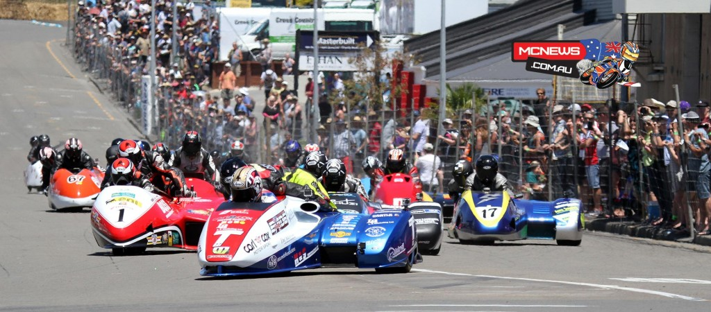 Tim Reeves leads the charge in Sidecars race 1