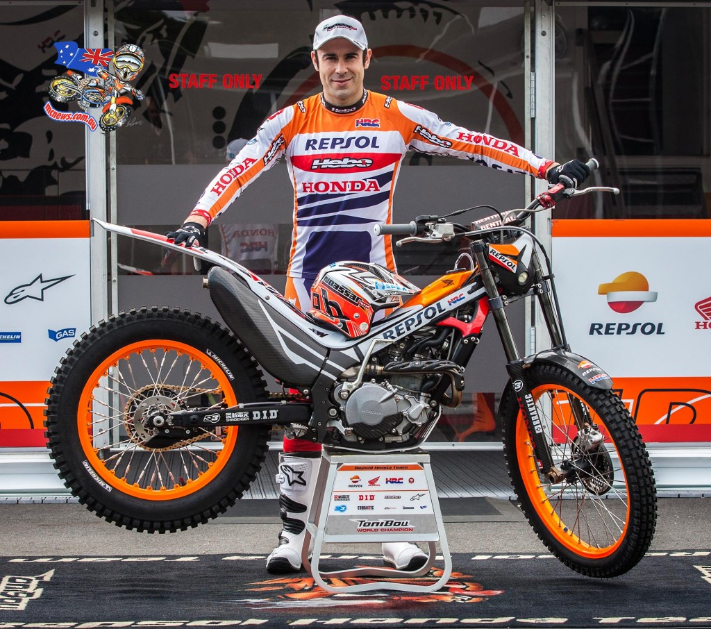 Toni Bou reflects on season 2015 - Astride the Montesa Cota 4RT, the Spanish ace rode to victory in every competition he entered in 2015