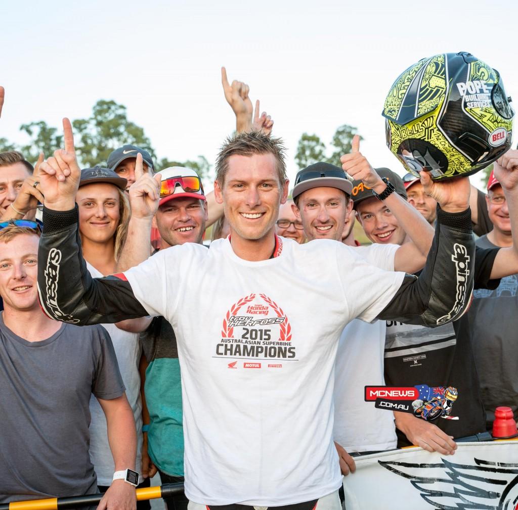 Troy Herfoss - 2015 Swann Australasian Superbike Champion