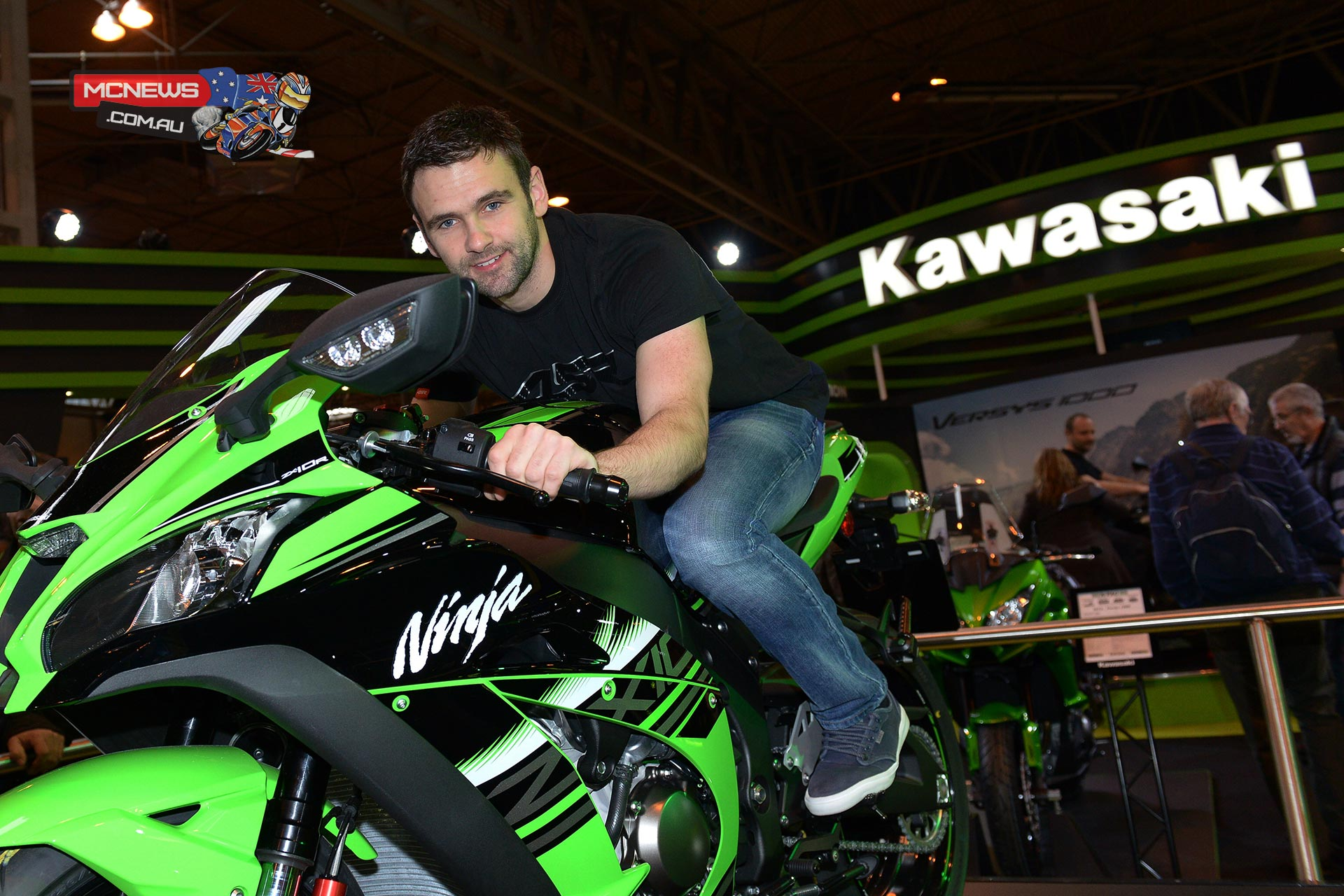 William Dunlop on ZX-10R for 2016 Superstock TT