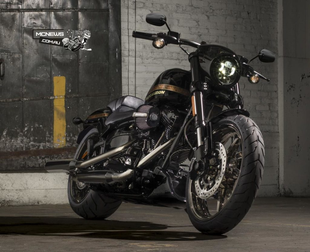 Harley-Davidson's Breakout has been a raging success. Pictured here is the top end CVO Pro Street version of the Breakout