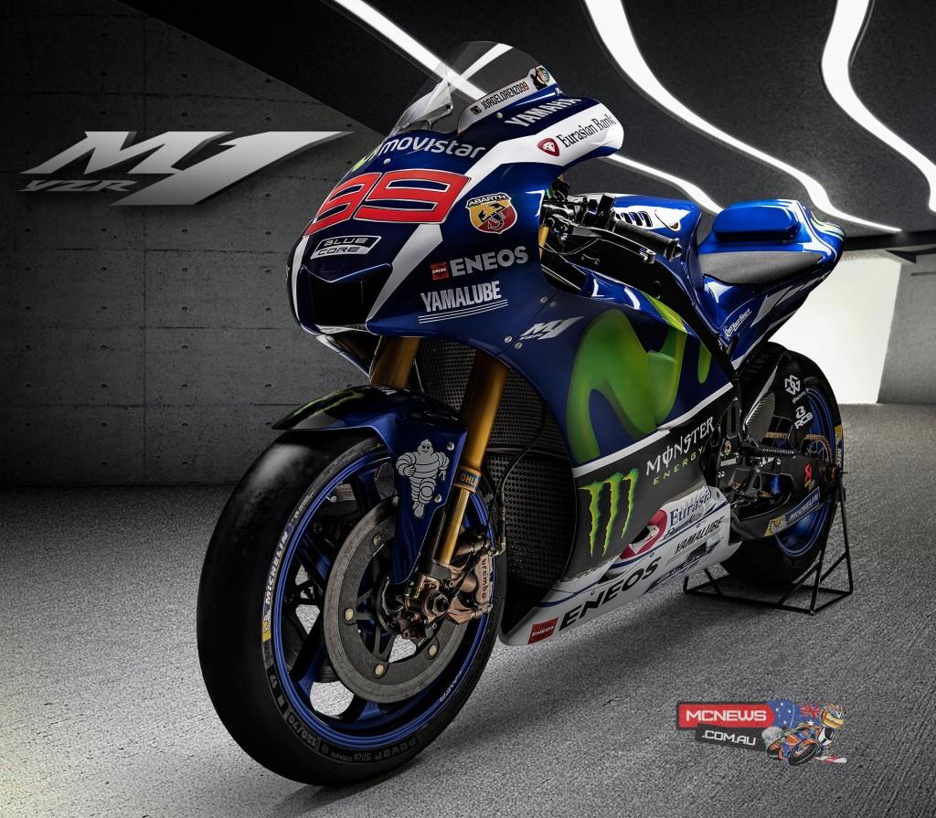 2016 Yamaha YZR-M1 - Jorge Lorenzo
