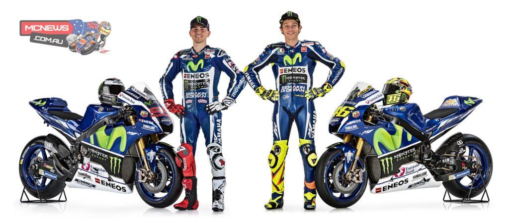 2016 Yamaha YZR-M1 - Jorge Lorenzo and Valentino Rossi