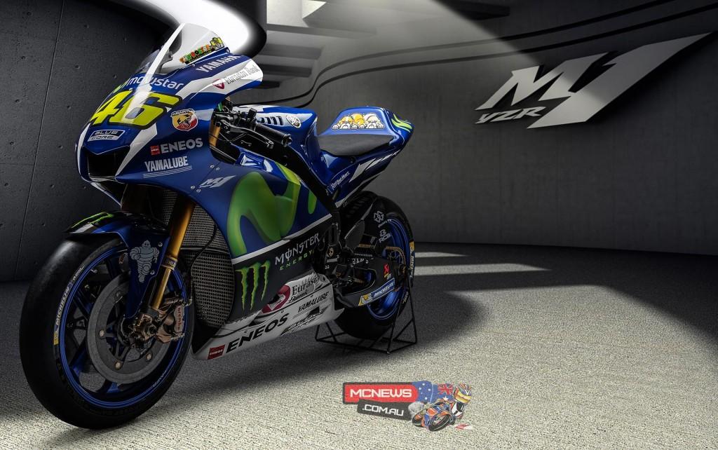 2016 Yamaha YZR-M1 - Valentino Rossi