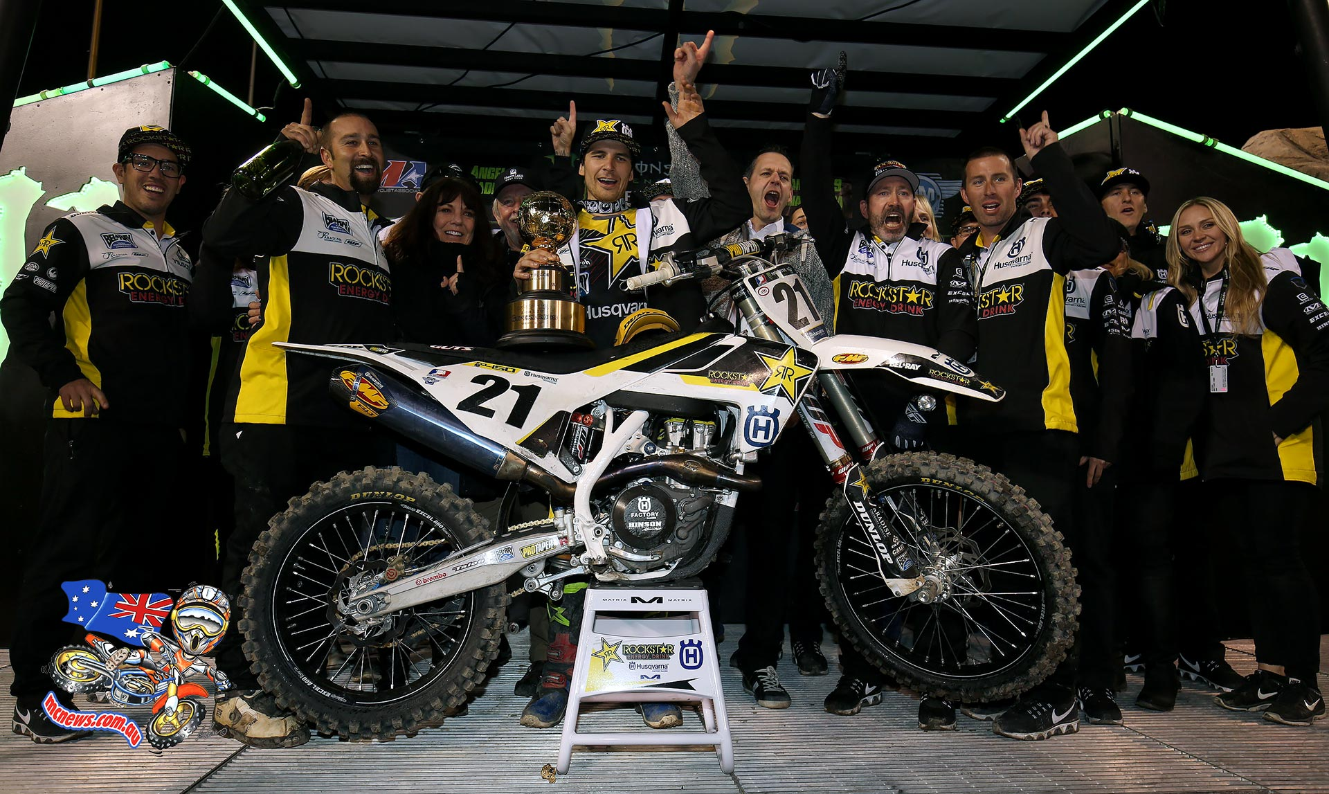 AMA SX 2016 - Round One - 450 Winner - Jason Anderson
