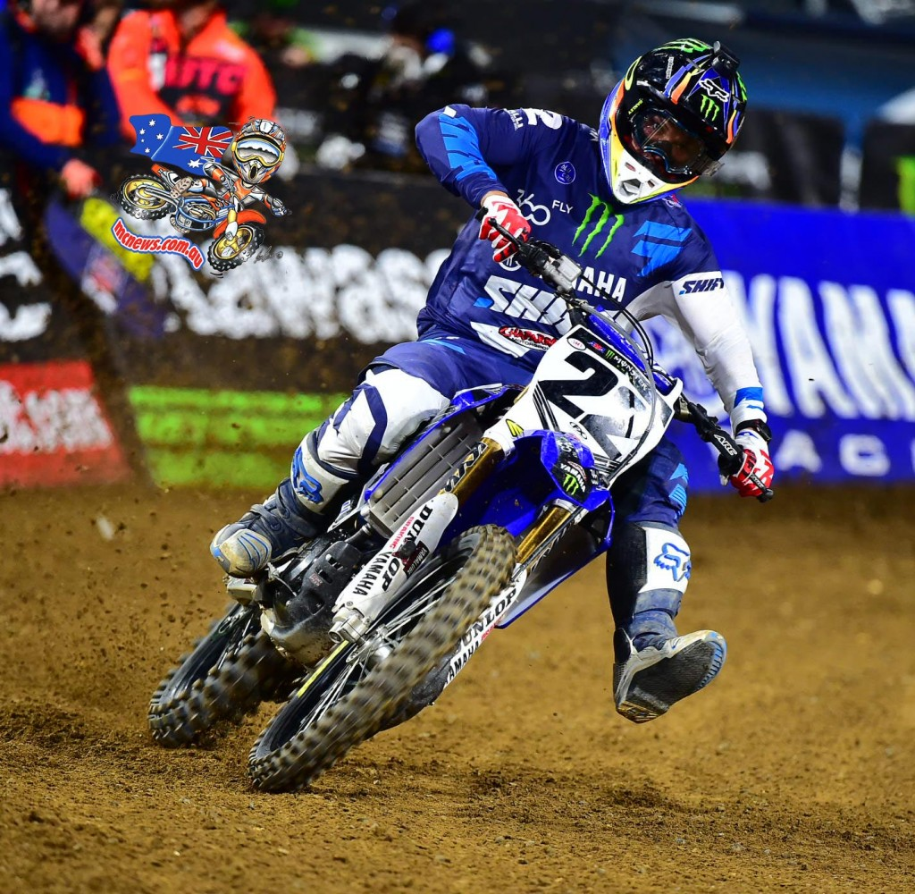 Chad Reed is now one start away from tying Larry Ward for third on the all-time 450SX Class starts list with 188.