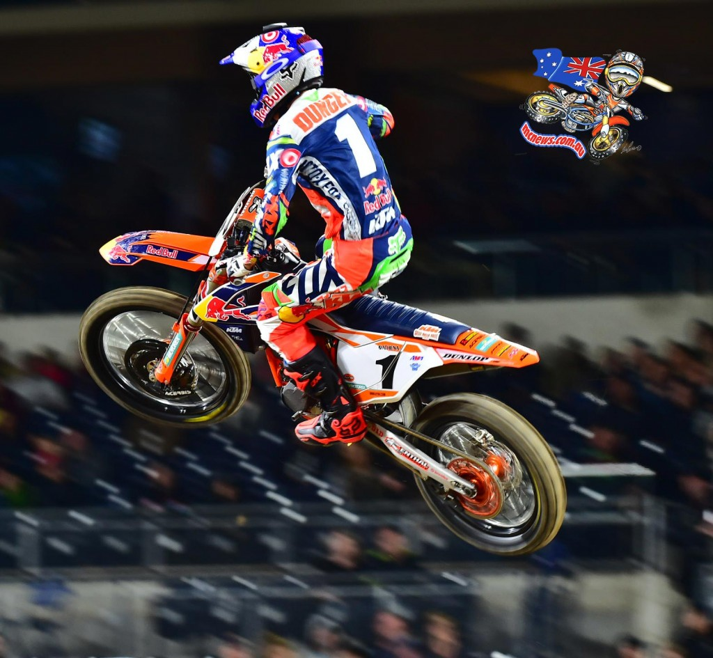 Ryan Dungey - AMA SX 2016 - Round Two - San Diego - Image by Hoppenworld