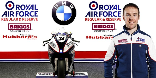Alastair Seeley set for MCE BSB return with Royal Air Force BMW