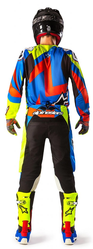 Alpinestars A1 Special Edition Tech 10 and Alpinestars Techstar Factory outfit