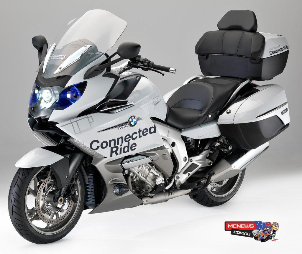 BMW K 1600 GTL concept vehicle with BMW Motorrad laser light