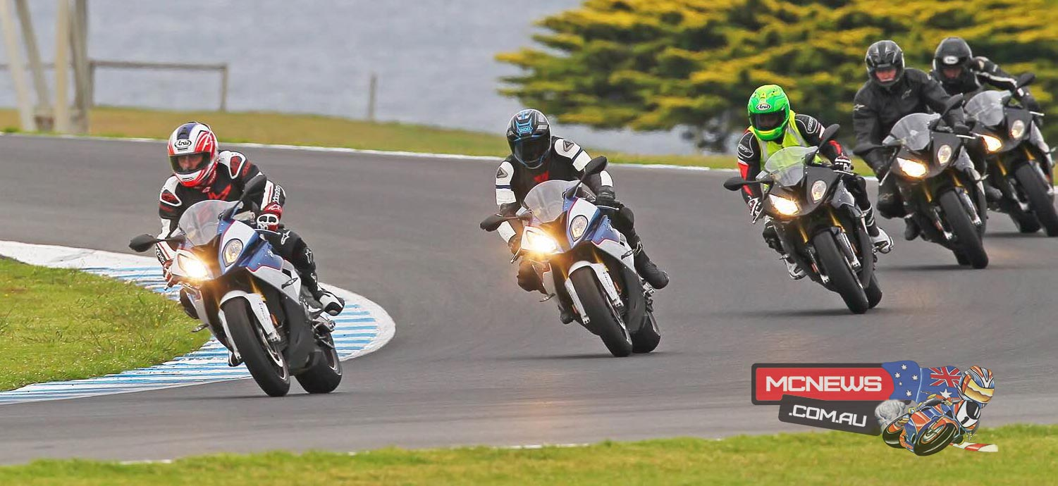 BMW Motorrad 2016 RR Experience Test Rides / Track Days