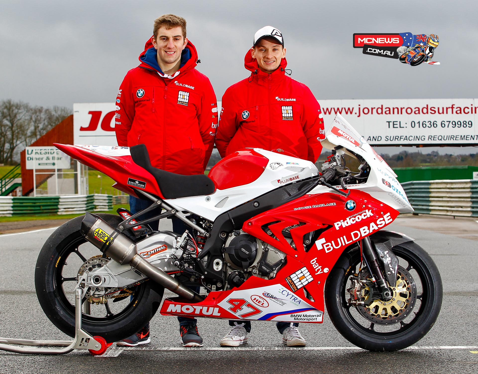 Richard Cooper joins Lee Jackson at Buildbase BMW for 2016 MCE BSB