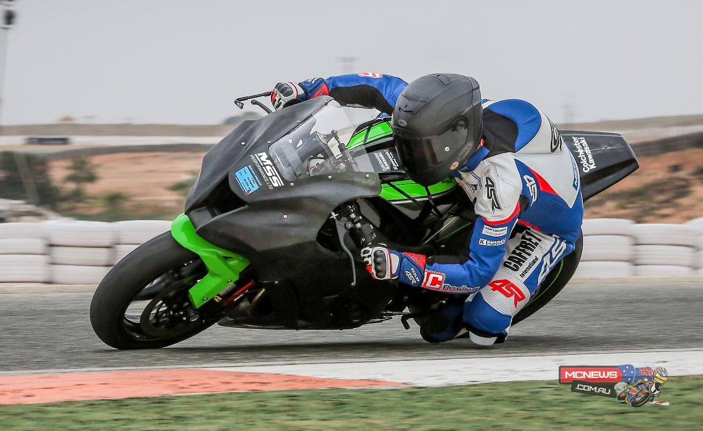 William Dunlop rides MSS Colchester Kawasaki at Cartagena - Image by Pete Wileman