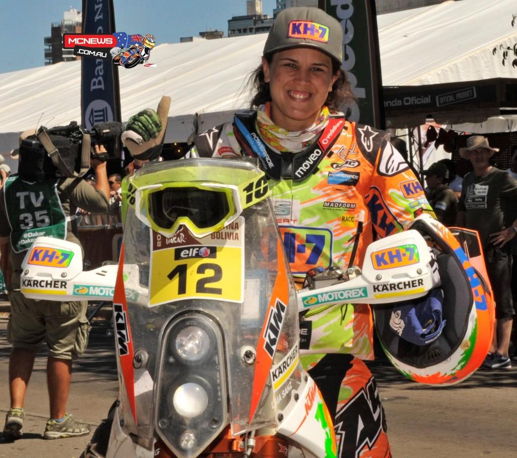 Dakar 2016 - Laia Sanz