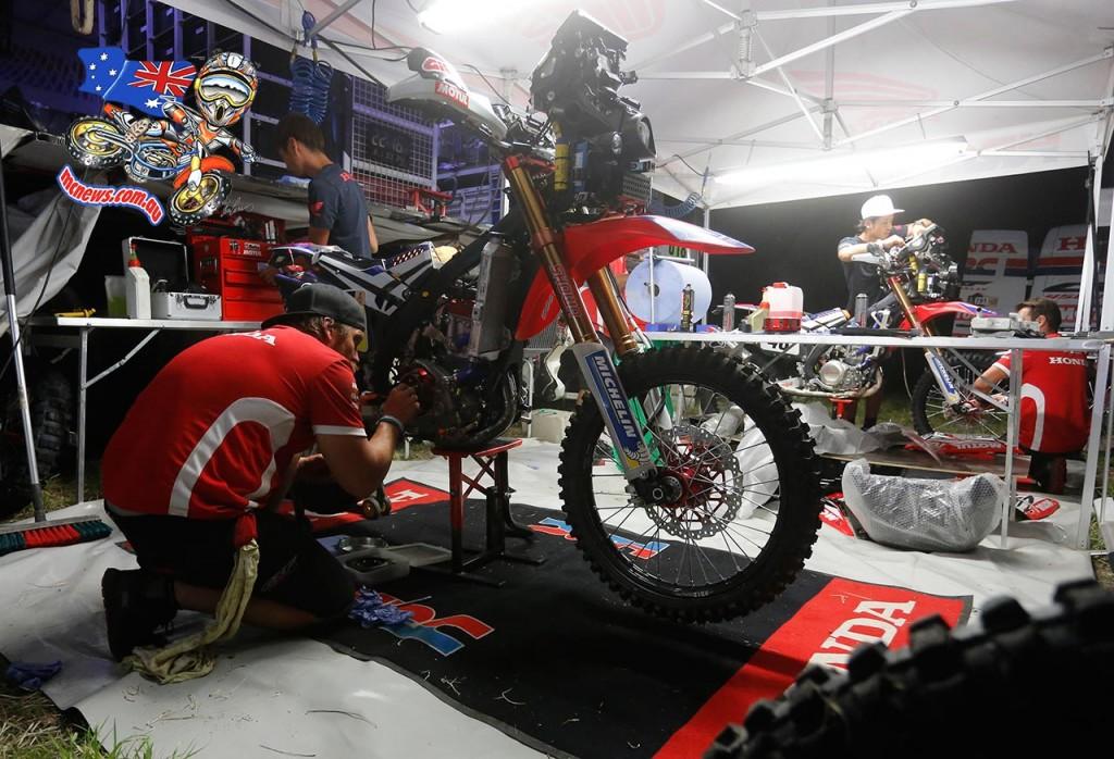 Dakar 2016 - HRC Mechanics