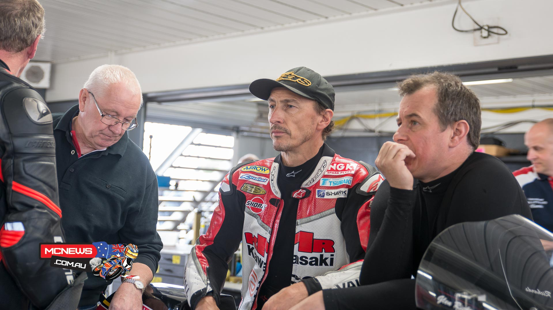 Island Classic 2016 - Qualifying - Roger Winfield, Jeremy McWilliams and John McGuinness