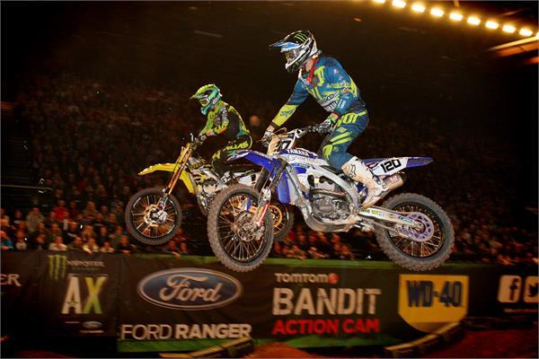 Ramette and Soubeyras are on fire in the UK Arenacross series