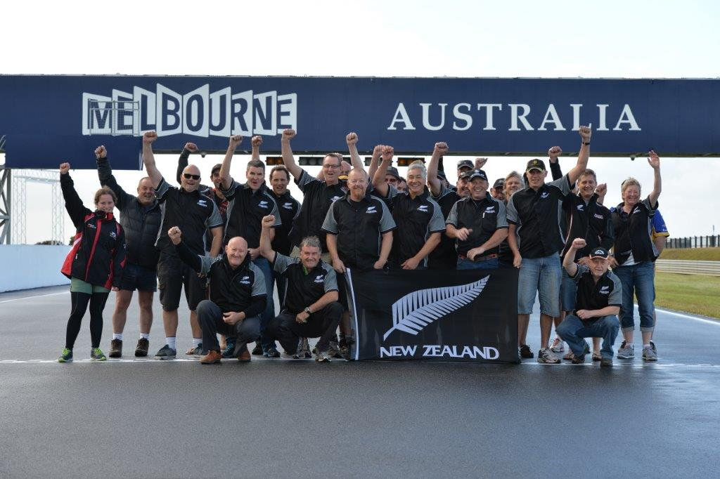 Team NZ at the 2015 Island Classic