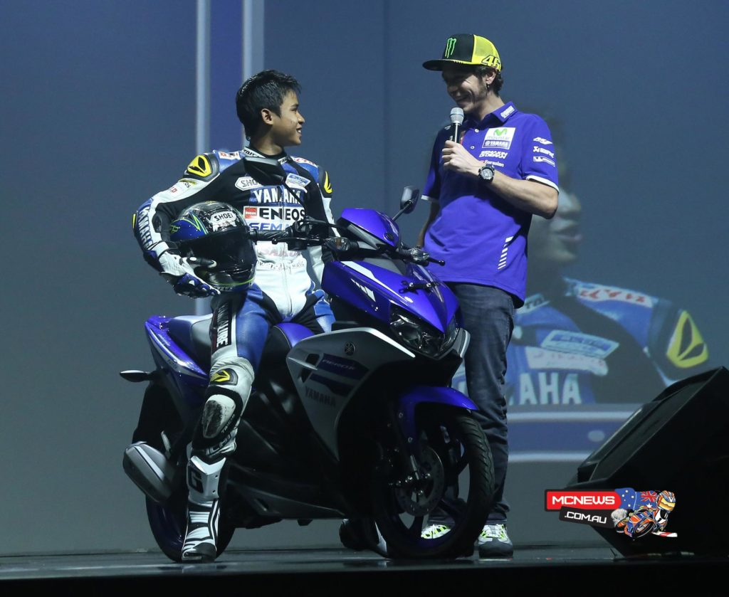 Valentino Rossi Greets Indonesian Fans at Yamaha Indonesia's Dealer Meeting - Image by Yamaha Motor Racing