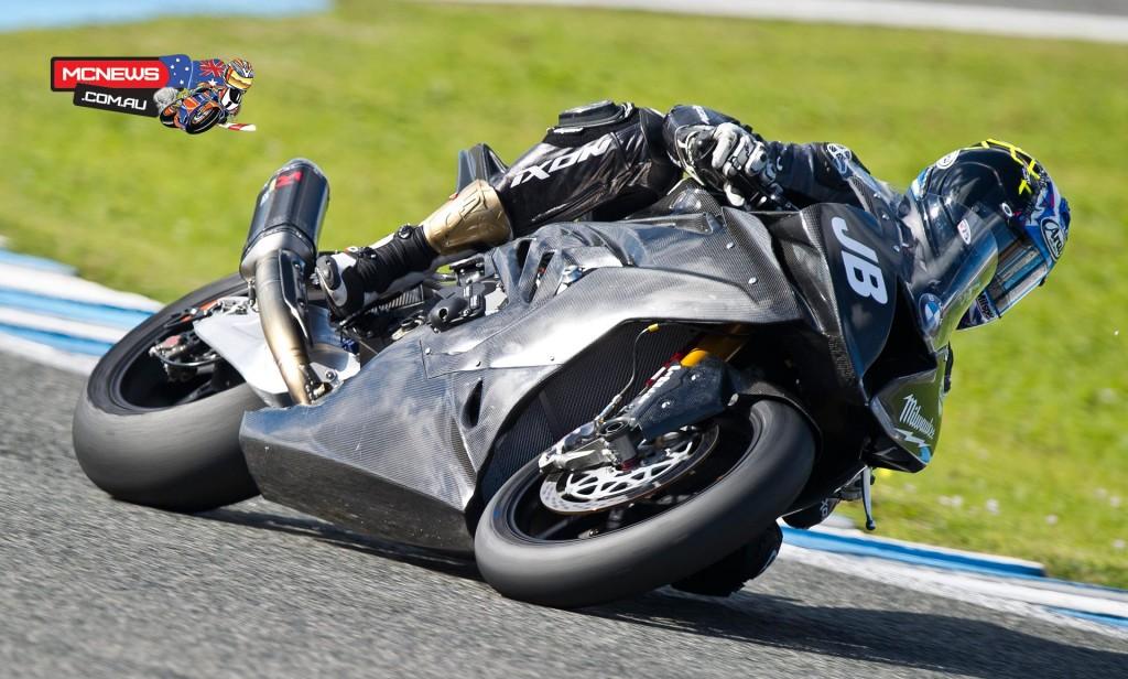 WorldSBk 2016 - Jerez Test - Jan - Josh Brookes - Image by Graeme Brown / GeeBee Images