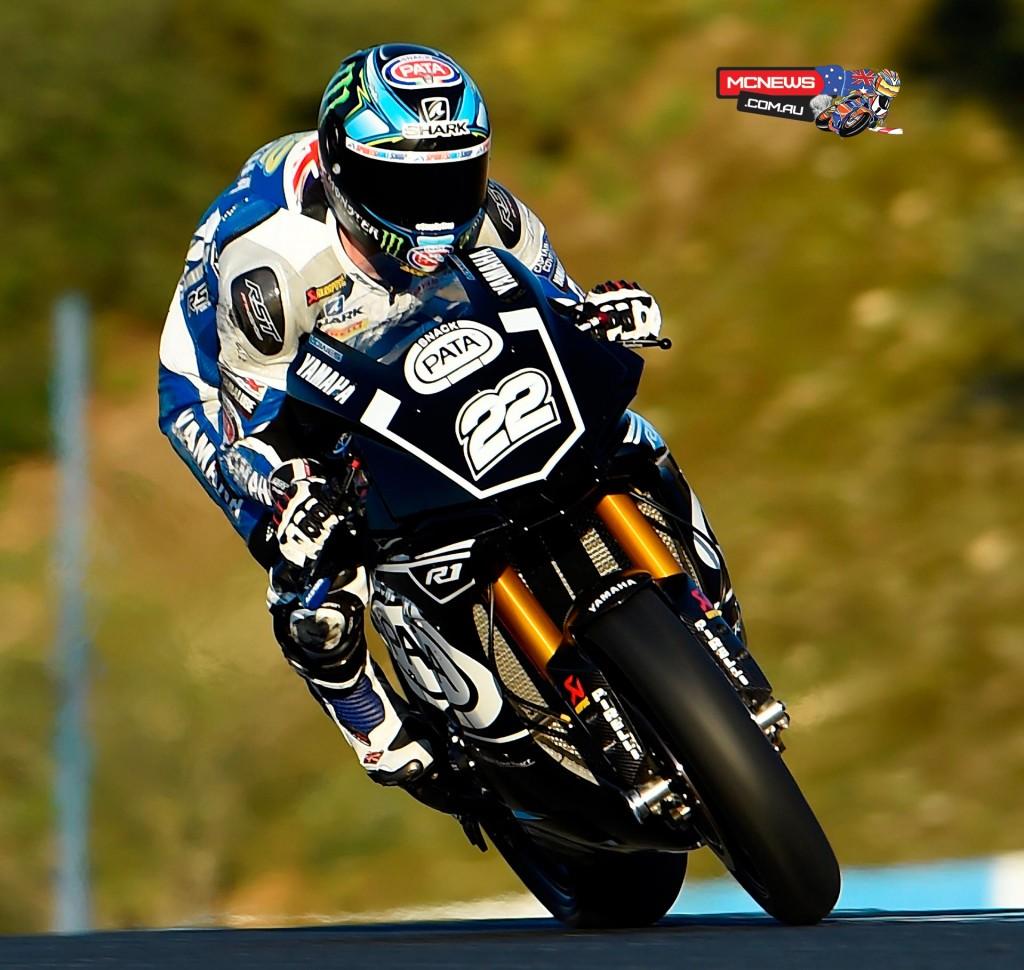 WorldSBK 2016 - Jerez Test Jan - Image by Yamaha Racing - Alex Lowes