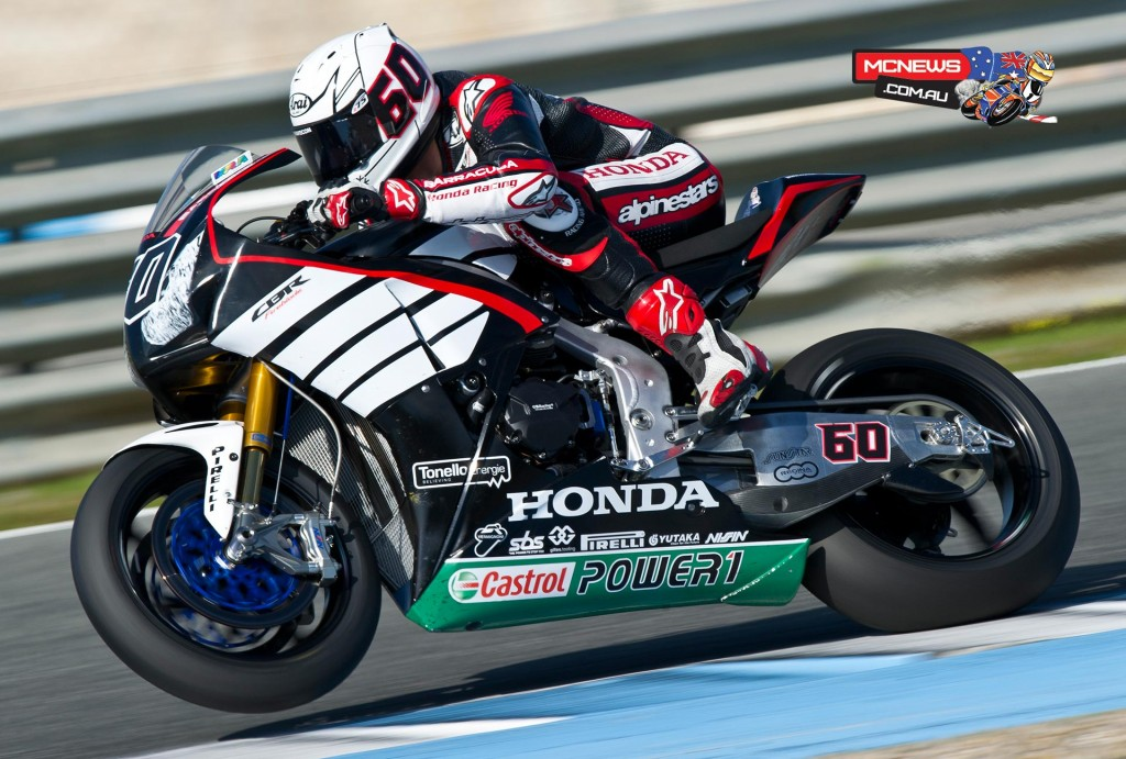 WorldSBK 2016 - Jerez Test Jan - Image by Honda Racing - Michael Van Der Mark