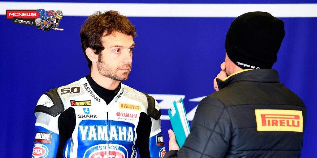 WorldSBK 2016 - Jerez Test Jan - Image by Yamaha Racing - Sylvain Guintoli