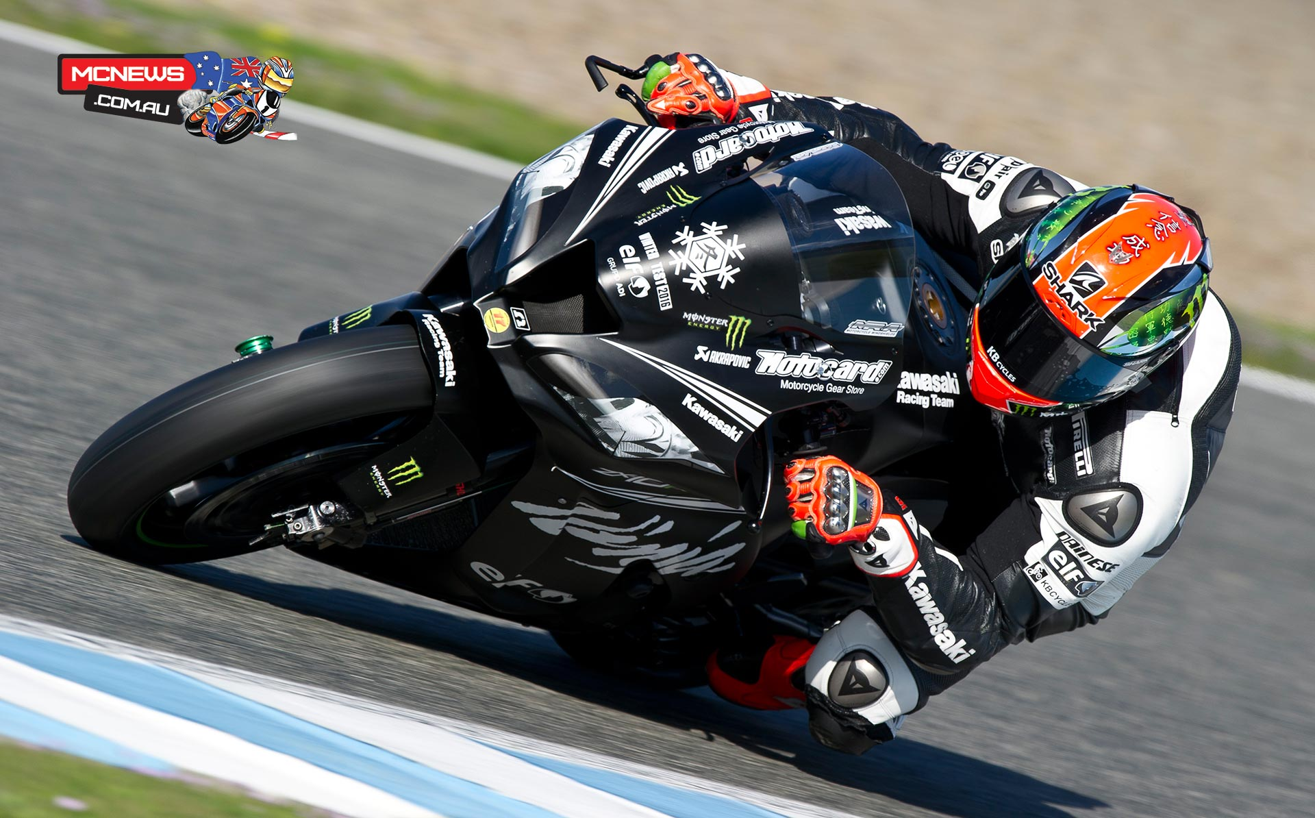 WorldSBK 2016 - Jerez Test Jan - Image by KRT - Tom Sykes