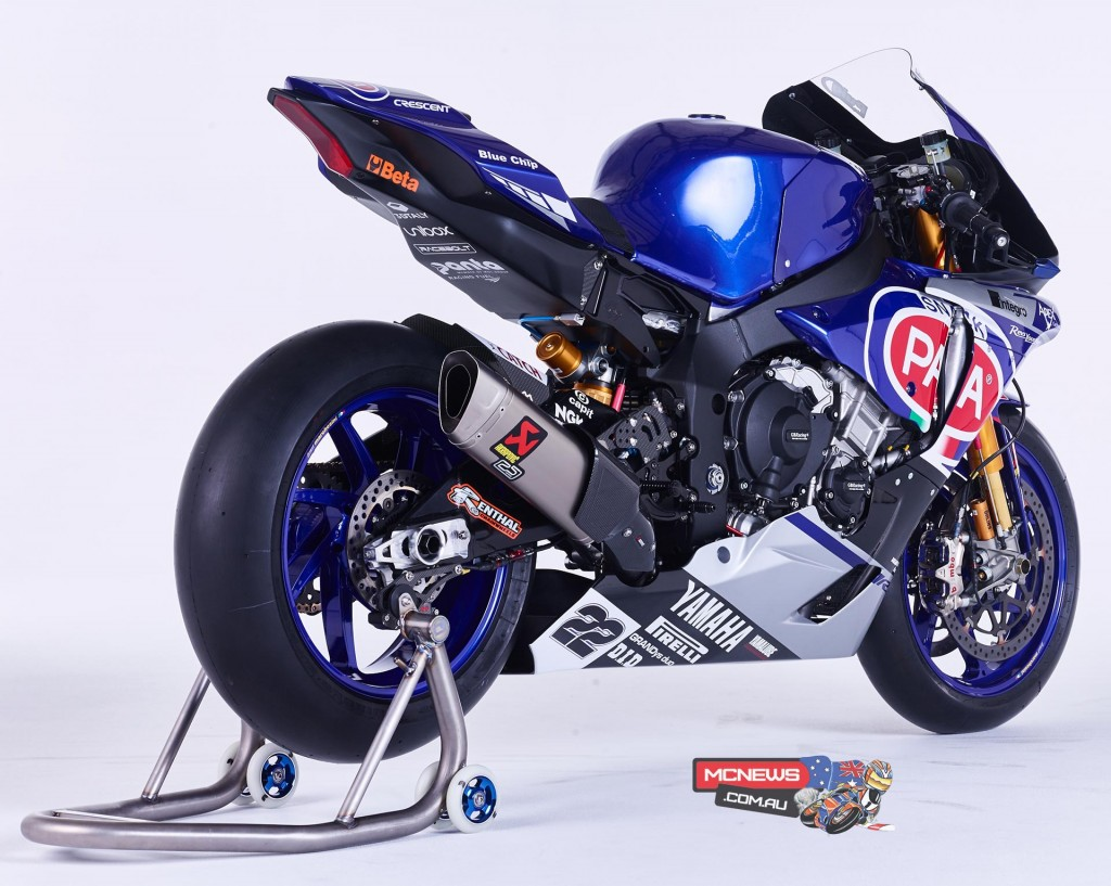 Yamaha YZF-R1M - 2016 World Superbike - Alex Lowes