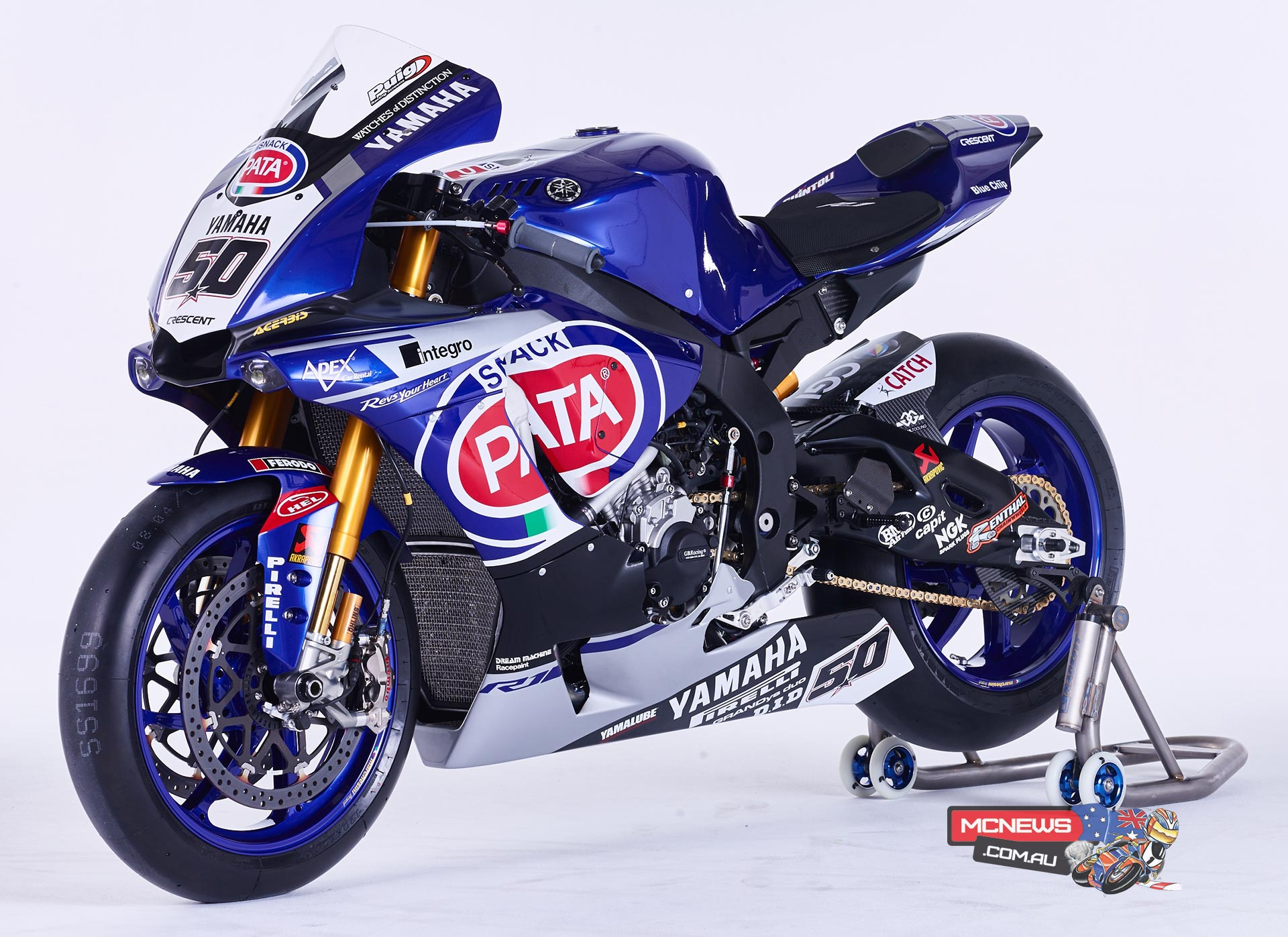 Yamaha YZF-R1M - 2016 World Superbike