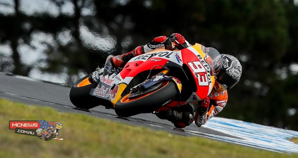 MotoGP 2016 - Phillip Island Test February - Marc Marquez