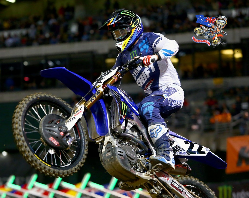 AMA SX 2016 - Round Four - Oakland - Image by Hoppenworld - Chad Reed