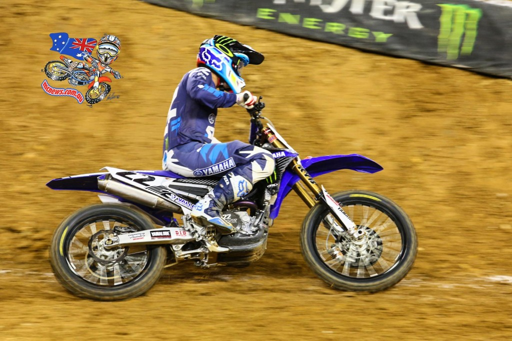 AMA SX 2016 - Round Seven - Arlington - Chad Reed - Image by Hoppenworld