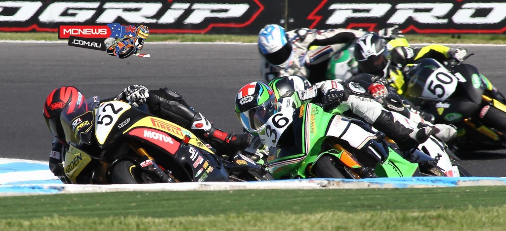 ASBK 2016 - Round One - Supersport Race One - Phillip Island - Image by Cameron White
