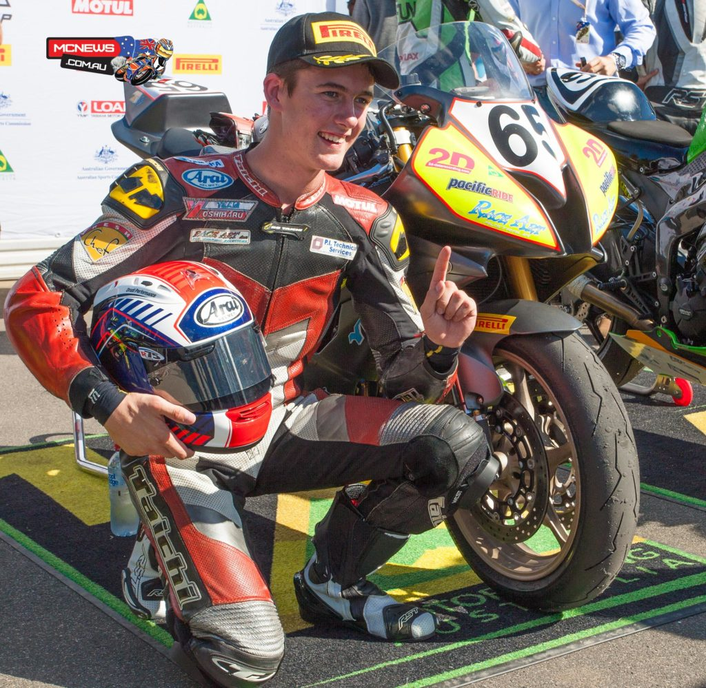 Troy Guenther - ASBK 2016 - Round One - Supersport Race One - Phillip Island - Image by Cameron White