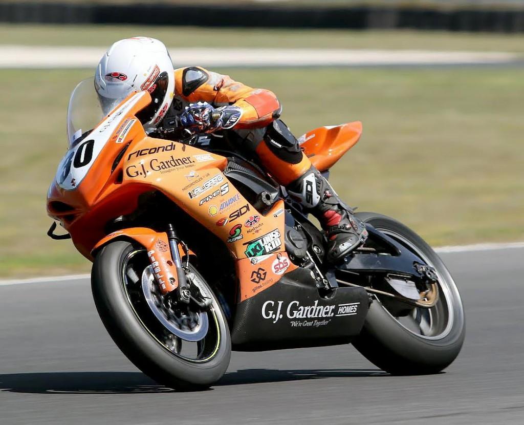 Australian Superbike Test - February 2016 - Phillip Island - Image by Mark Bracks - Kane Burns