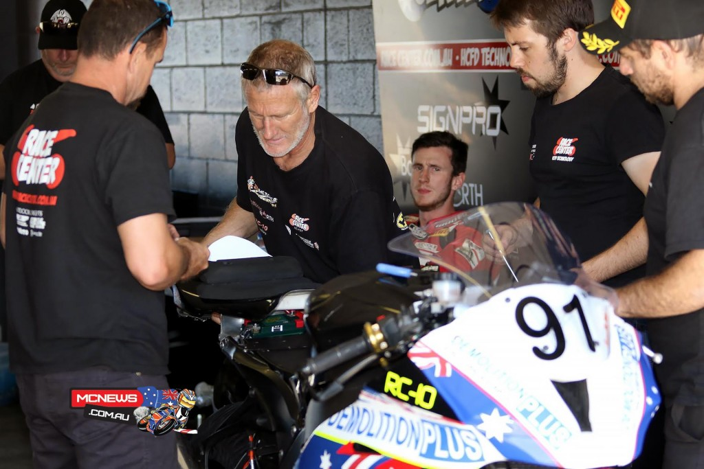 Australian Superbike Test - February 2016 - Phillip Island - Image by Mark Bracks - Jed Metcher