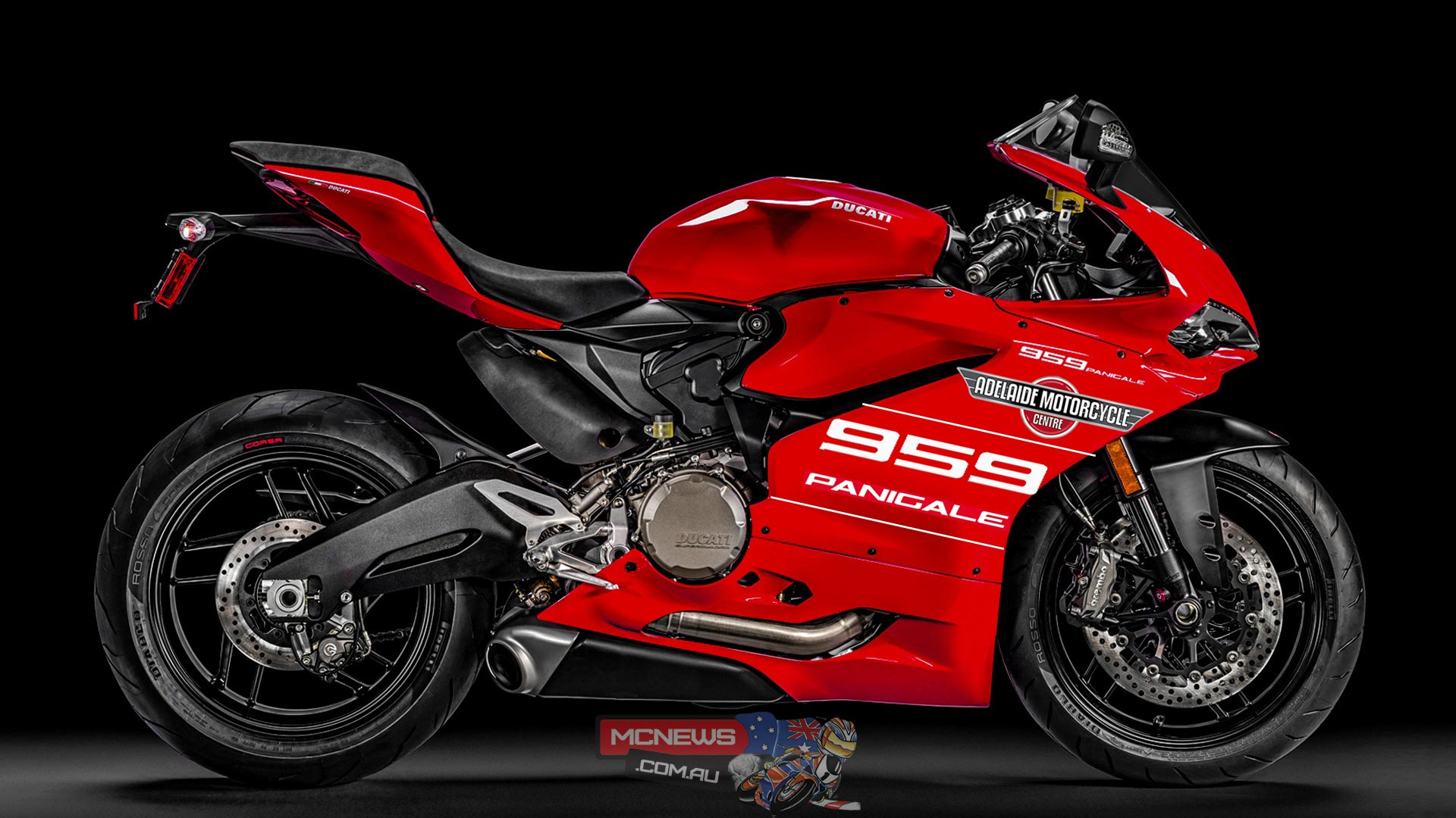 Adelaide Motorcycle Centre, the Official Ducati Dealer in South Australia, have decided to build a Ducati 959 Panigale race bike for the 2016 season.