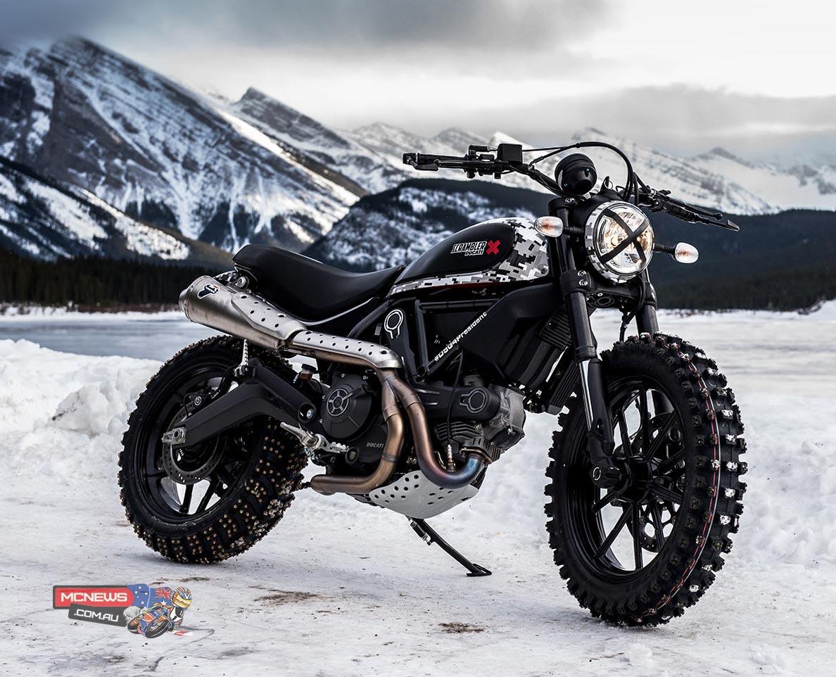 Ducati Scrambler Custom Rumble - Ice Track Pro