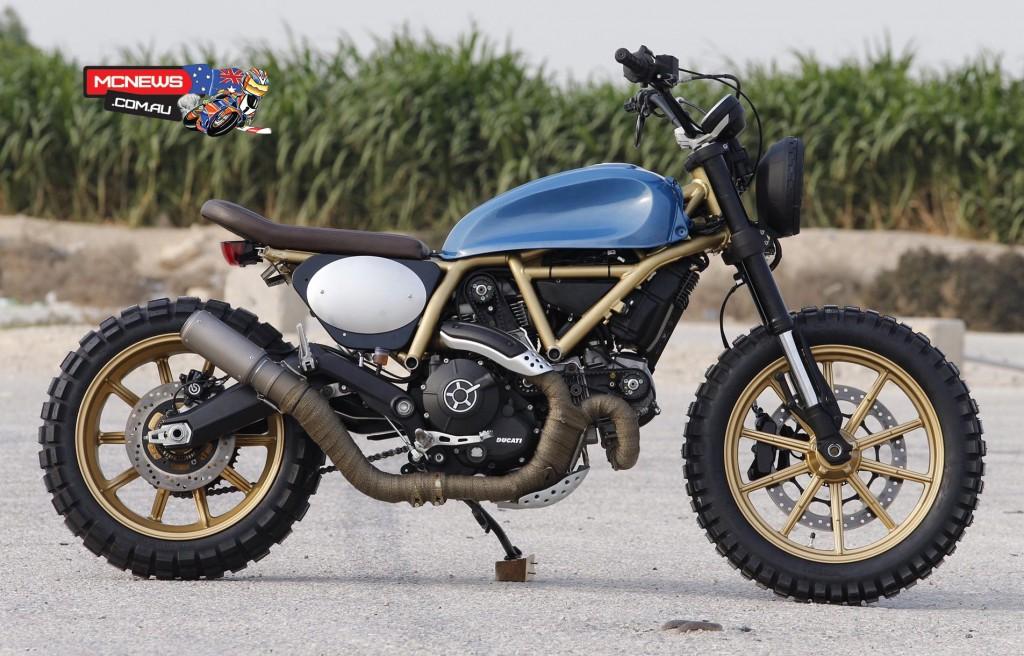 Ducati Scrambler Custom Rumble - Arabia