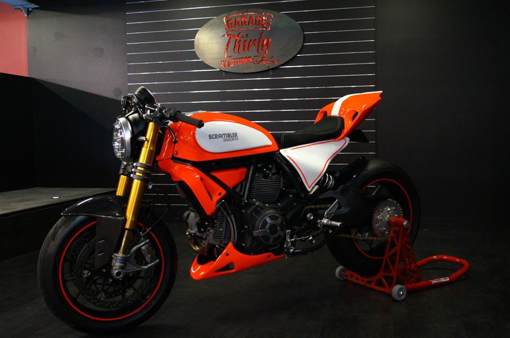 Ducati Scrambler Custom Rumble - Scramblegale