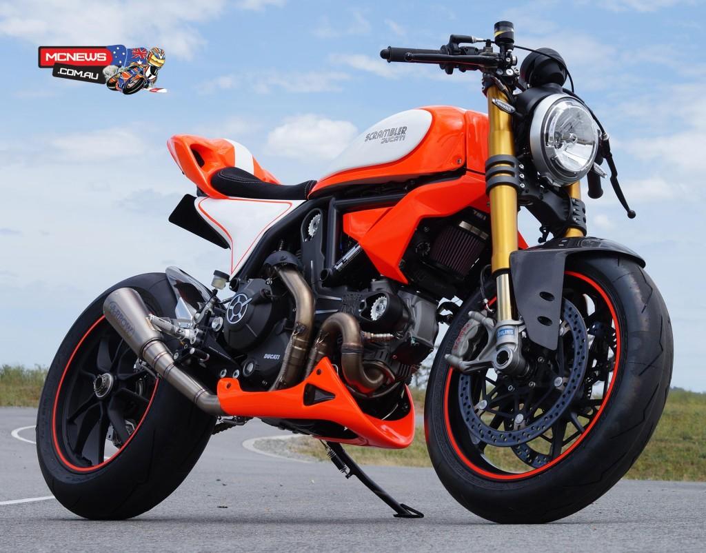 Ducati Scrambler Custom Rumble - Scramblegale CMC