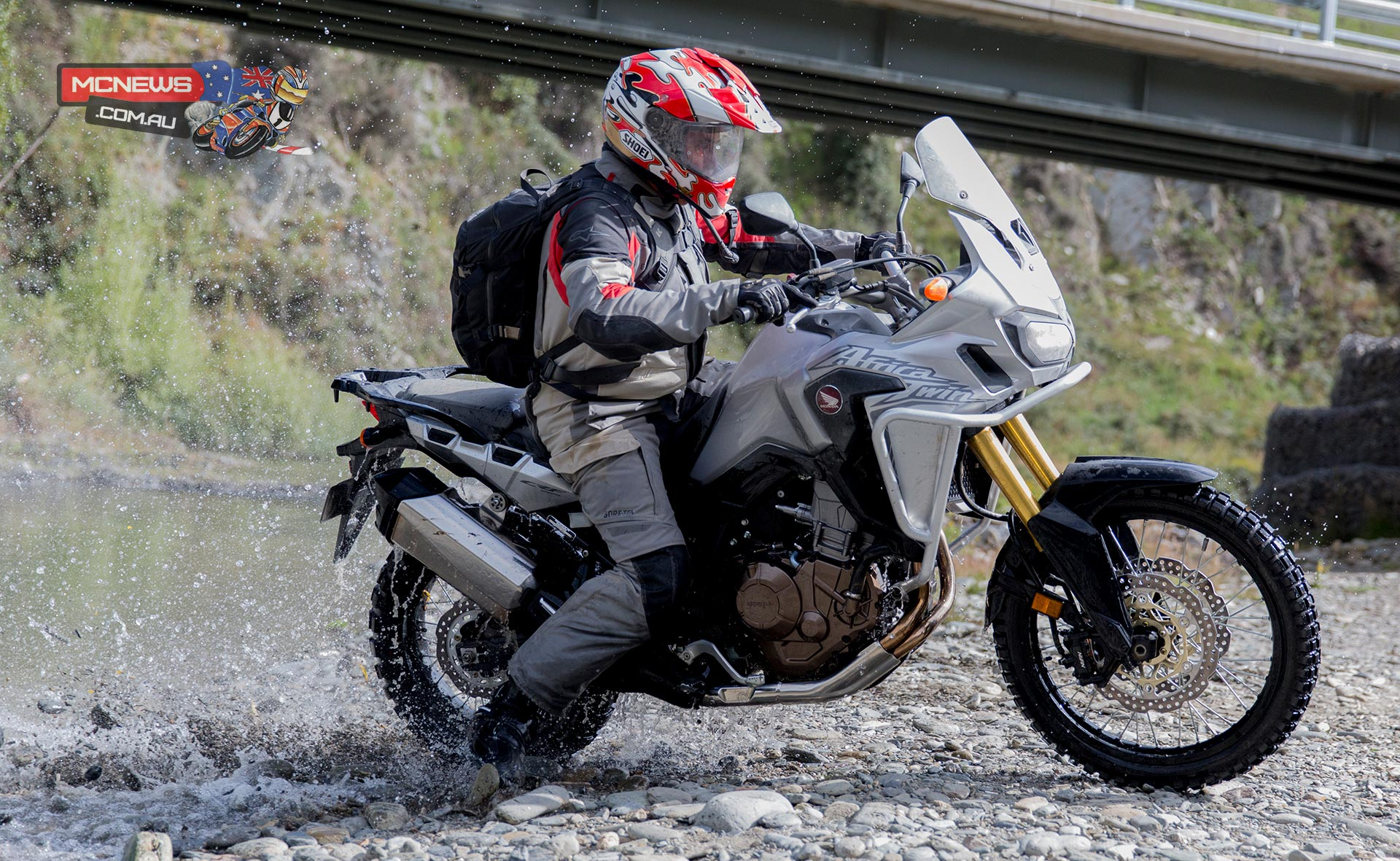 Honda Africa Twin - Daryl Beattie - Image by Harley Hamer