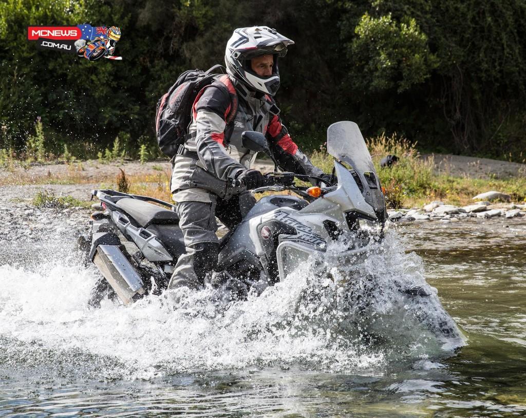Honda Africa Twin - Glyn Griffths - Image by Harley Hamer