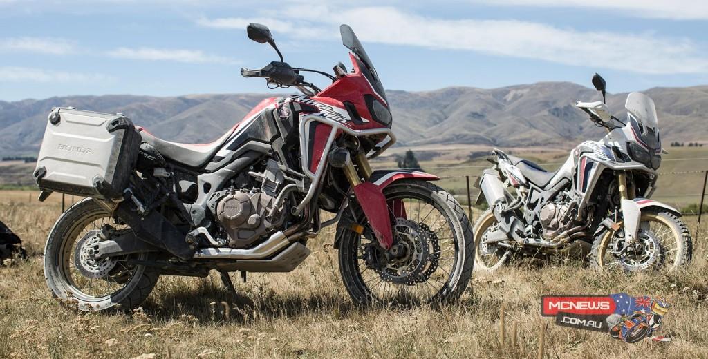 Honda Africa Twin - Image by Harley Hamer