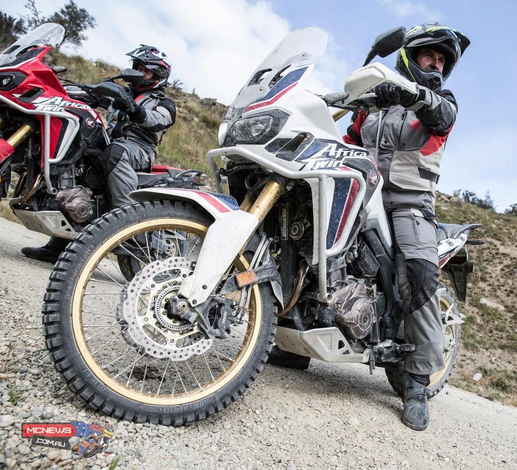 Honda Africa Twin - Trevor Hedge - Image by Harley Hamer