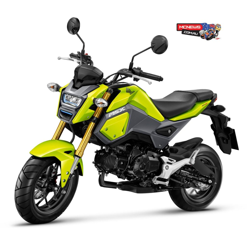 Honda's new Grom helped Honda's result considerably with 294 sales making it Australia's fourth biggest selling motorcycle thus far in 2017